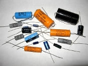 Axial Electrolytic Capacitors less than 50v ratings