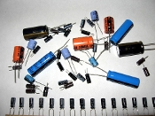 Radial Electrolytic Capacitors 25v or less ratings