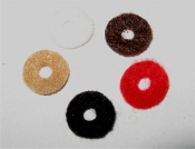 Strap Button Washers (Felt or Leather)