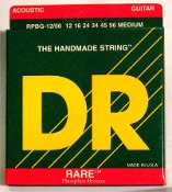 Strings, DR Rare For Acoustic Guitar