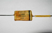 "Reproduction ""Phonebook"" .1 uF 150v. ""ZNW1P1""  Capacitor"